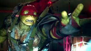 teenage mutant ninja turtles 2 movie clip airplane jump 2016