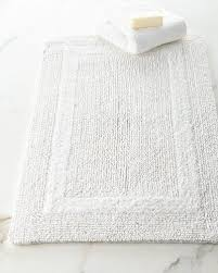 White Bathroom Rugs White Bath Rug Neiman
