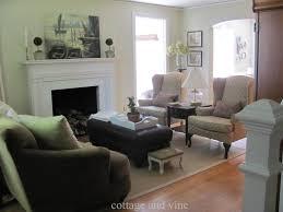 unique living room furniture arrangement fireplace saveemail