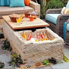 Diy Ideas For Backyard 19 Clever Diy Outdoor Cooler Ideas Let You Keep Cool In The Summer