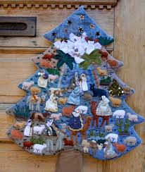 christmas tree soft palette handmade by artisans in the