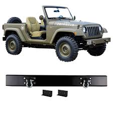 2016 jeep wrangler black bear matte black 75th willys front bumper for jeep wrangler jk