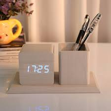 compare prices on wood digital clock online shopping buy low