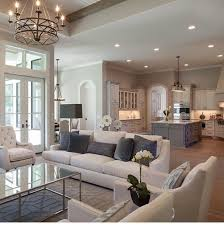 decorating ideas for open living room and kitchen i dig it neutrals are still around retirees in