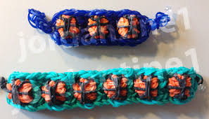 bracelet looms youtube images New basketball bracelet advanced tutorial rainbow loom jpg