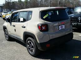 mojave jeep renegade 2015 mojave sand jeep renegade sport 4x4 103020735 photo 4