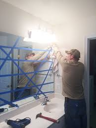 How To Remove Bathroom Mirror How To Safely Remove That Large Builder Bathroom Mirror Large
