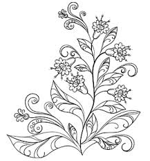 floral pattern coloring pages 28 images arabic floral patterns