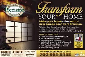 garage doors precision garage door coupons servicehotos services