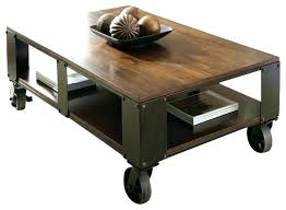 coffee table with caster wheels awesome coffee table caster wheels awesome home design