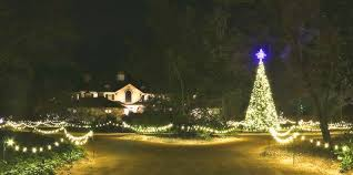 hopeland gardens christmas lights the city of aiken department of parks and recreation announces 26th