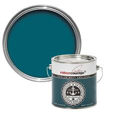 colourcourage deep atlantic matt emulsion paint 2 5l bedrooms
