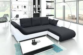 canapé d angle noir et blanc pas cher canap d angle convertible design pas cher great canape d angle