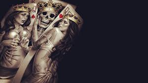 cards skull wallpapers hd desktop and mobile backgrounds