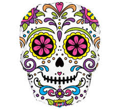 day of the dead decorations sugar skull day of the dead 27 balloon party