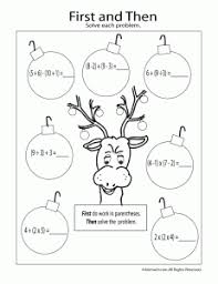 engaging lessons and activities free christmas math printables
