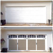 plum prettyfaux carriage style garage doors diy u2014