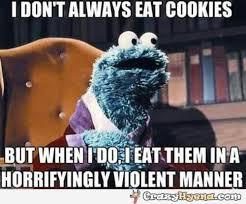 Monster Meme - cookie monster meme