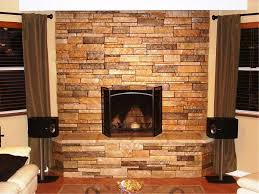 faux stone electric fireplace u2014 jburgh homes diy stacked stone