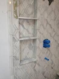 bathroom ez niche recessed wall niche shampoo bottle height