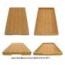 Jenn Air 4 Burner Gas Cooktop Stove Toppers Range Burner Covers For Bamboo Cutting Board And