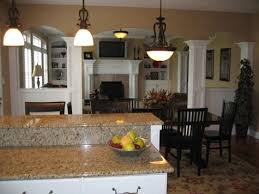 Open Kitchen Family Room Floor Plans Custom Homes Open Floor Plans Designed To Your Specifications