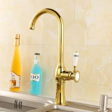 Gold Kitchen Faucet by Discount Gold Kitchen Faucet 2017 Kitchen Faucet Gold On Sale At