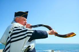 shofar tallit a yemenite shofar stock photo image of tallit