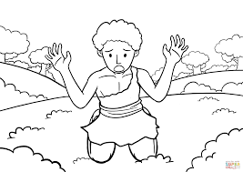cain u0027s repentance coloring page free printable coloring pages