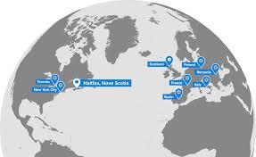 Nova Scotia Canada Map by Build Ships In Canada
