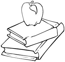 open book colouring open book