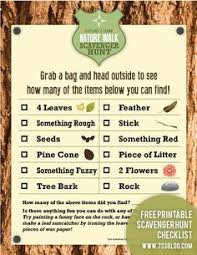 Backyard Scavenger Hunt Ideas Get Beachy Waves Today You Know You Want To Nature Scavenger