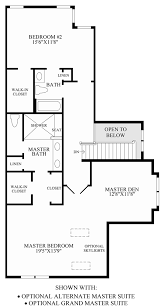 enclave at upper makefield the rockland home design optional alternate master suite grand master suite floor plan