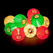 multi colored hanging lights fiesta lanterns hanging light string