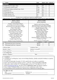 christmas takeaway order form u2013 the foreign correspondents u0027 club