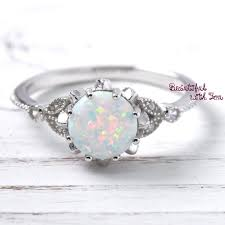 Opal Wedding Rings by Womens Opal Ring Opal Ring Womens Opal Wedding Ring Wedding
