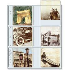 5x7 photo album refill pages print file archival storage page for 12 prints 3 5 x 3 5 25 pack