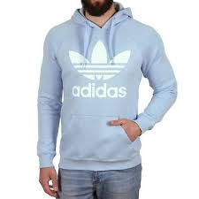 light blue adidas hoodie hoodie blue