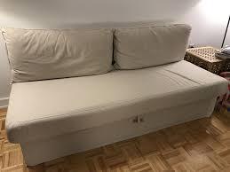 himmene sleeper sofa lofallet beige ikea himmene sleeper sofa in lofallet beige ebay