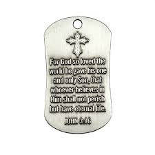 antique finish dog tag necklace jn 3 16 engraved