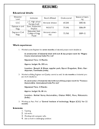 resume of building engineer professional resumes example online