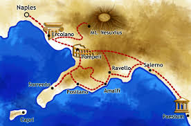 Positano Italy Map Amalfi Coast Tour Pompeii Trip Tours From Positano And Naples