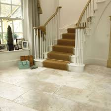 simple tumbled travertine floor tiles home decor color trends