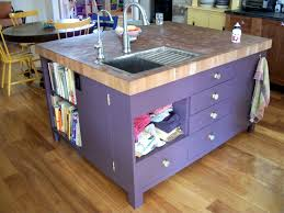 Kitchen Islands With Sink And Seating Bathroom Winsome Elegant Designs Kitchen Island Sink Butcher