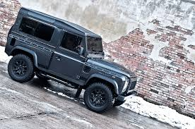 lifted land rover 2016 kahn land rover defender military edition with wide body kit