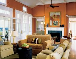 burnt orange paint color houzz