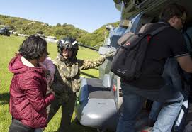 Fire Evacuations Nz by First U S Ship To Visit New Zealand In 30 Years Diverts To Help