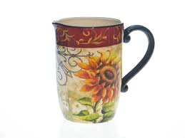 sunflower kitchen decor country beautiful sunflower kitchen