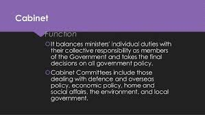 The Cabinet In Government Great Britain Government