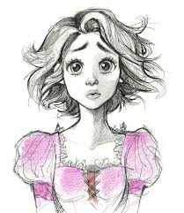 best 25 rapunzel drawing ideas on pinterest tangled drawing